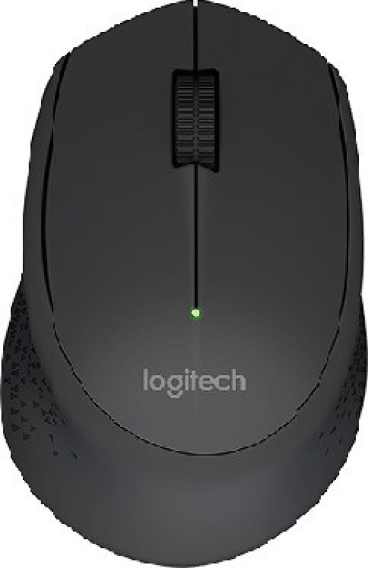 Logitech M280 Wireless Optical Mouse (Black) Wireless Optical Mouse(USB 2.0, Black)