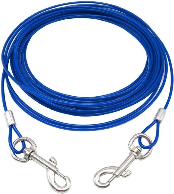 JAINSONS PET PRODUCTS 23.5 cm Dog & Cat Cord Leash(Blue)