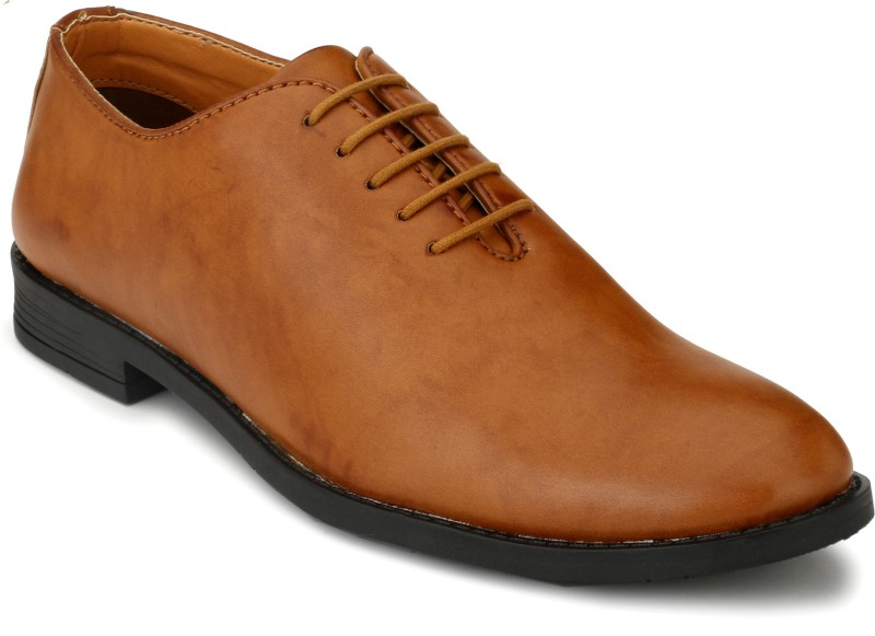 Fentacia Lace Up For Men(Tan)