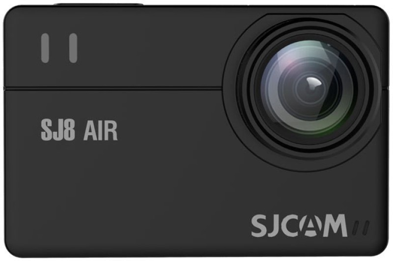 SJCAM SJ8 Air 1296P WiFi Sports Action Camera 2.33 Retina Ips Display - Black Full Set Instant Camera(Black)