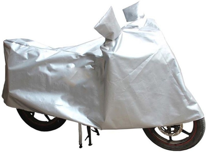 A+ RAIN PROOF Two Wheeler Cover for Universal For Bike(Silver)