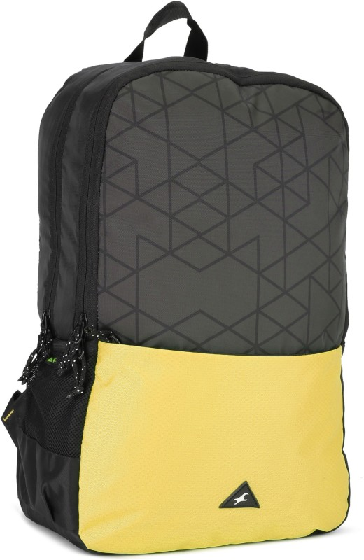 Fastrack A0694NBK01 21 L Backpack(Black, Yellow)