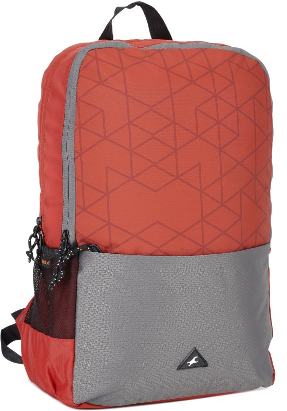 Fastrack A0694NRD01 21 L Backpack(Red, Grey)