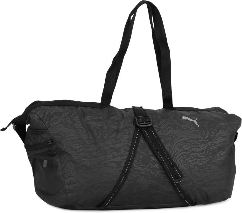 Puma 18 inch/47 cm Fit AT Workout Bag Travel Duffel Bag(Black)