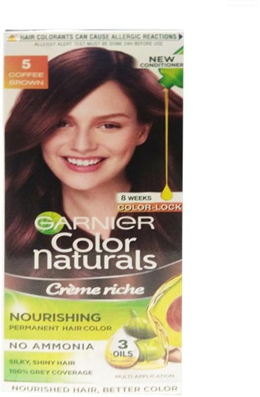 Garnier Color Natural Hair Color Coffee Brown Hair Color(Coffee Brown)