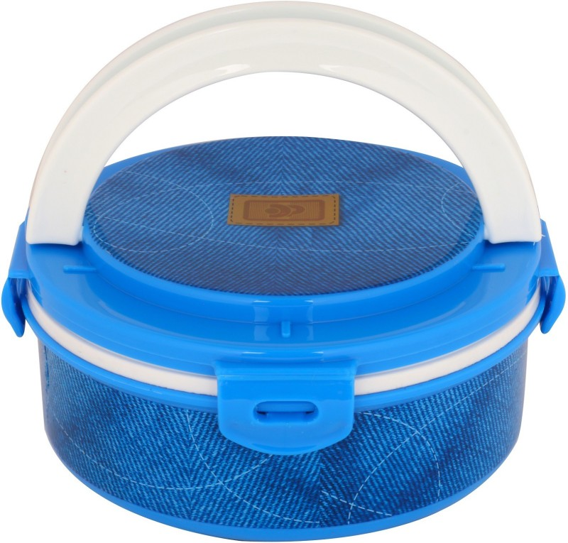 DP Admin 1 Piece Insulated Lunch Box Tiffin Container for Home Office, Kids School Thermo 2 Containers Lunch Box(400)