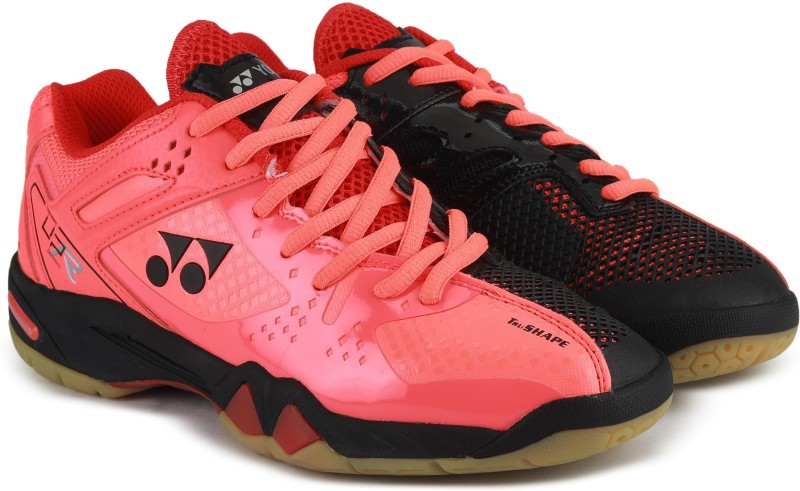 Yonex BADMINTON SHOES SRCP 02 Badminton Shoes For Men(Red, Black)