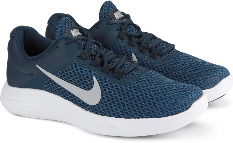 Nike NIKE LUNARCONVERGE 2 Running Shoes For Men(Blue)