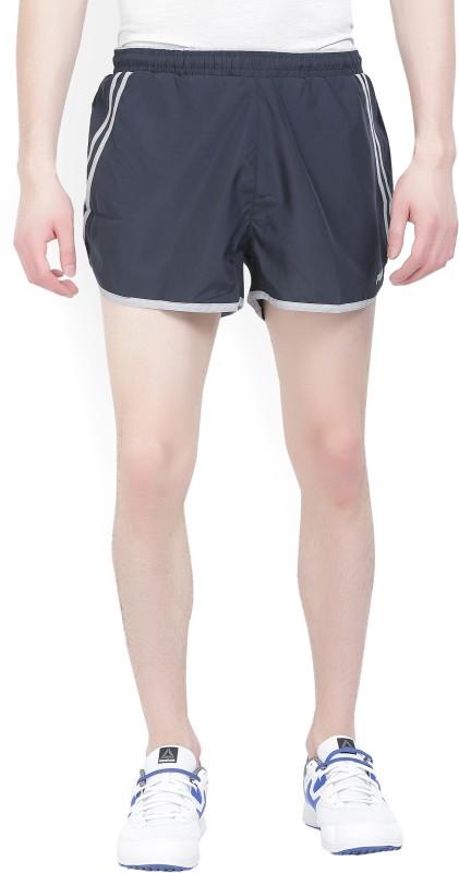 Fila Solid Men Dark Blue Sports Shorts