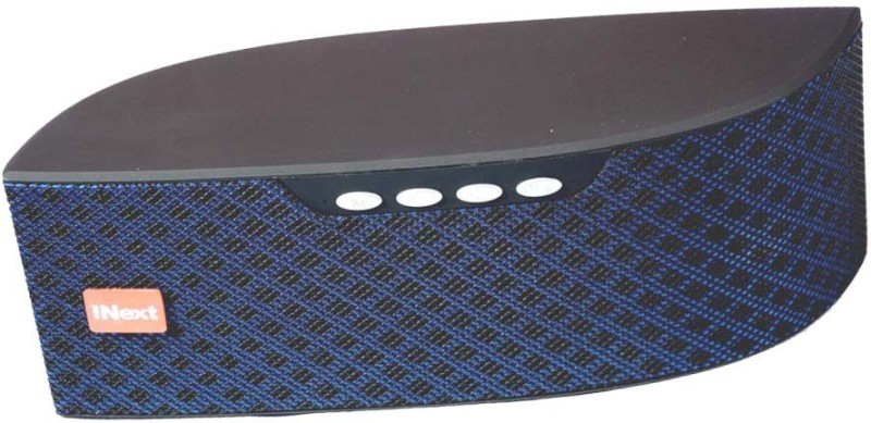 Inext IN-578 BT FM USB/ SD Portable-045-IN 5 W Bluetooth Speaker(Blue, Stereo Channel)