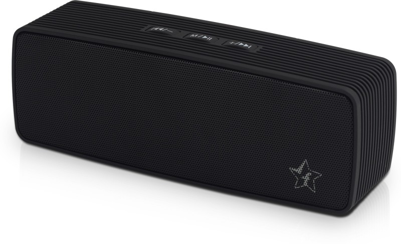 Flipkart SmartBuy 6W Powerful Bass Bluetooth Speaker(Black, Stereo Channel)