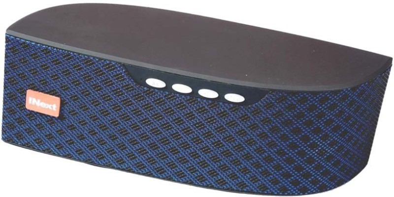 Inext IN-578 BT FM USB/ SD Portable-050-IN 5 W Bluetooth Speaker(Blue, Stereo Channel)