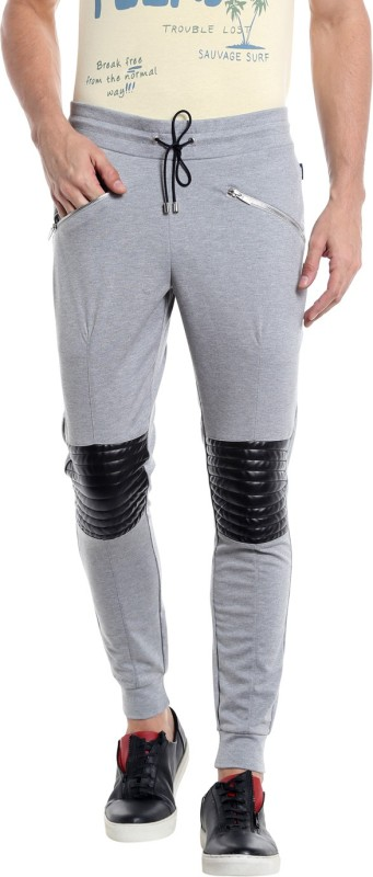 Jack & Jones Colorblock Men Grey, Black Track Pants
