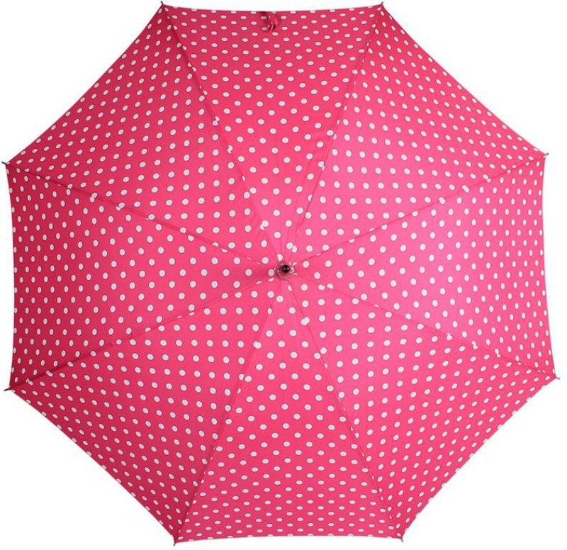 Johns Big Polka Woodking 8 Umbrella(Pink)