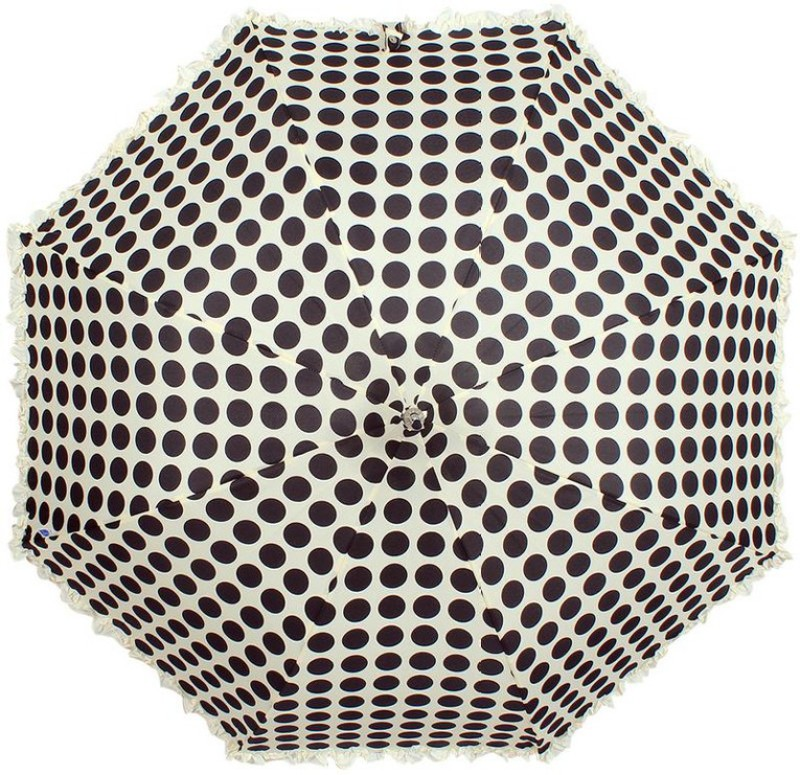 Johns Lady Pagoda 6 Umbrella(Black, White)