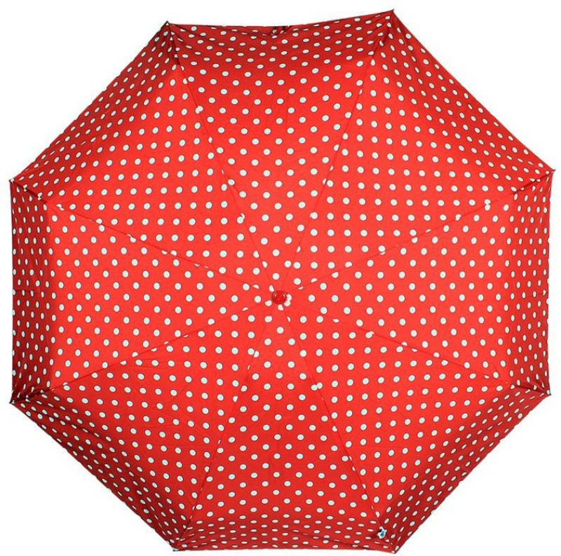 Johns Big Polka Atom 10 Umbrella(Red)