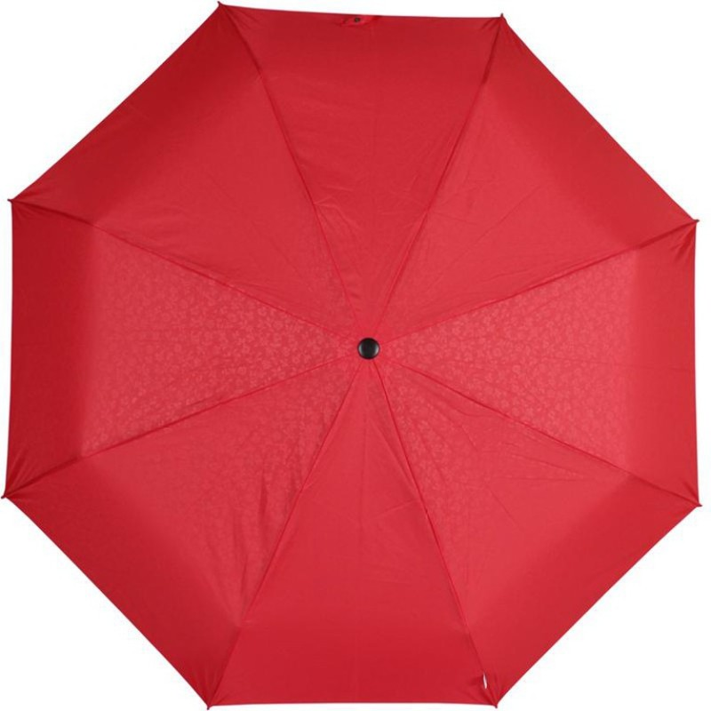 Johns Ansy 3 Fold Frp 2 Umbrella(Red)