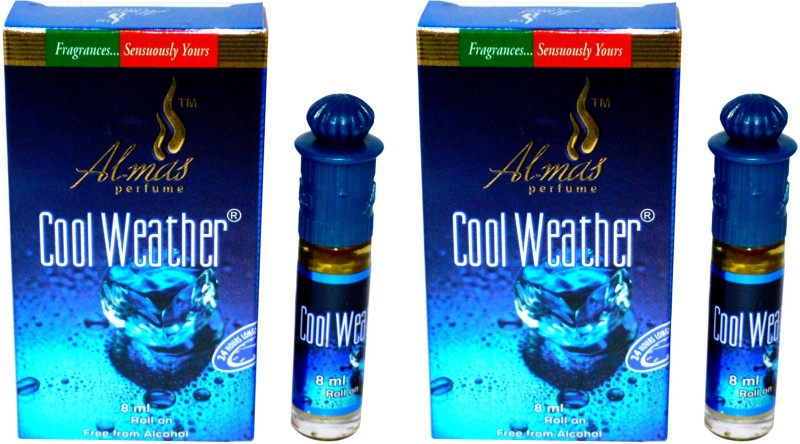 Almas Cool Weather Pocket Perfume. Floral Attar(Citrus)