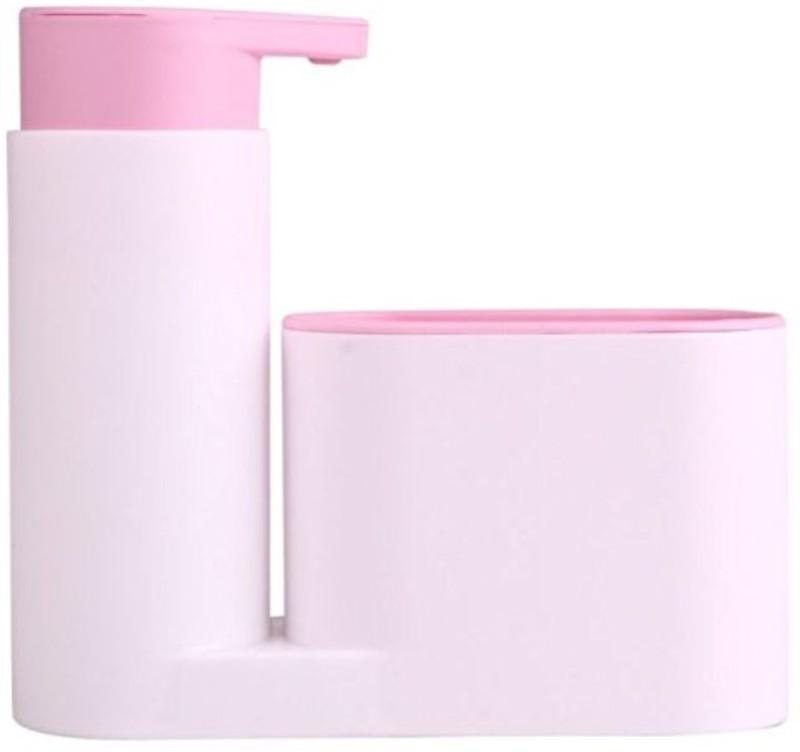 Smartcraft Soap dispenser 500 ml Gel, Lotion, Foam, Shampoo Dispenser(Pink)