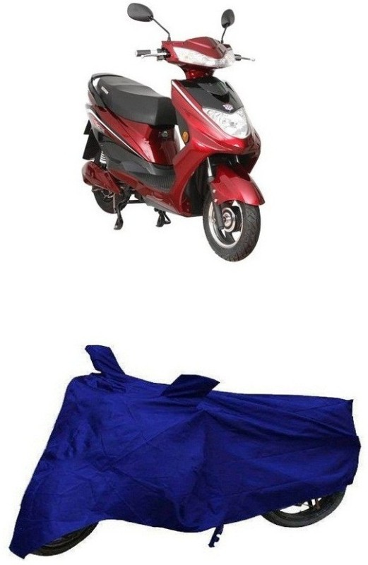 BigWheels Two Wheeler Cover for Bajaj(Blue)