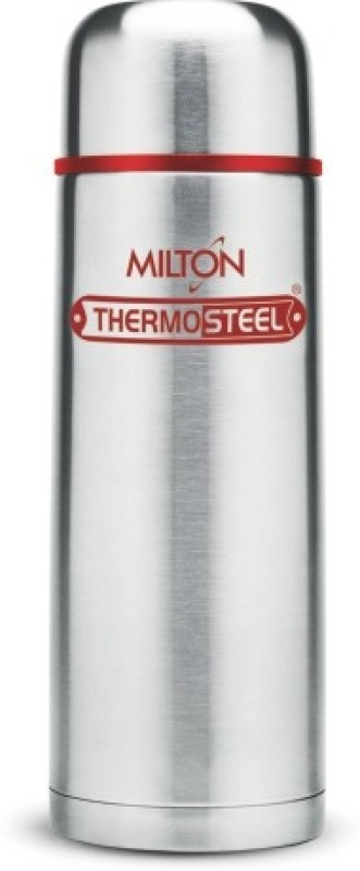 Milton Vaccum Flasks Thermosteel Hot & Cold Flip Lid 350 ml Red 350 ml Flask(Pack of 1, Red)