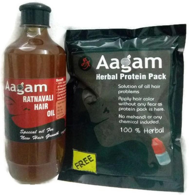 AAGAM RATNAVALI HAIR OIL Hair Oil(500 ml)