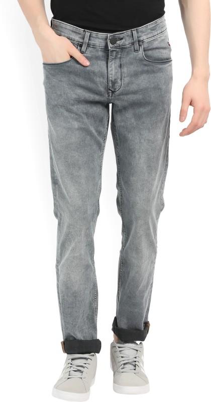 LP Jeans by Louis Philippe Slim Men's Grey Jeans