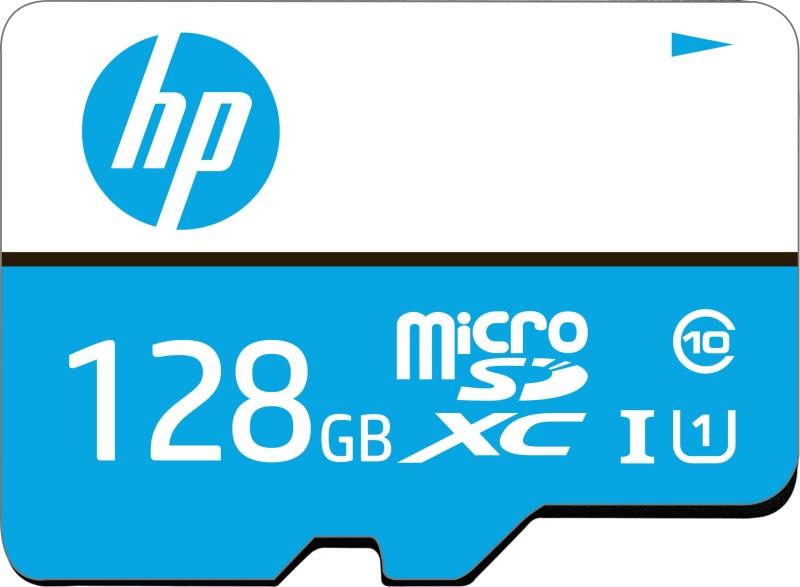 HP U1 128 GB MicroSDXC Class 10 80 Mbps Memory Card