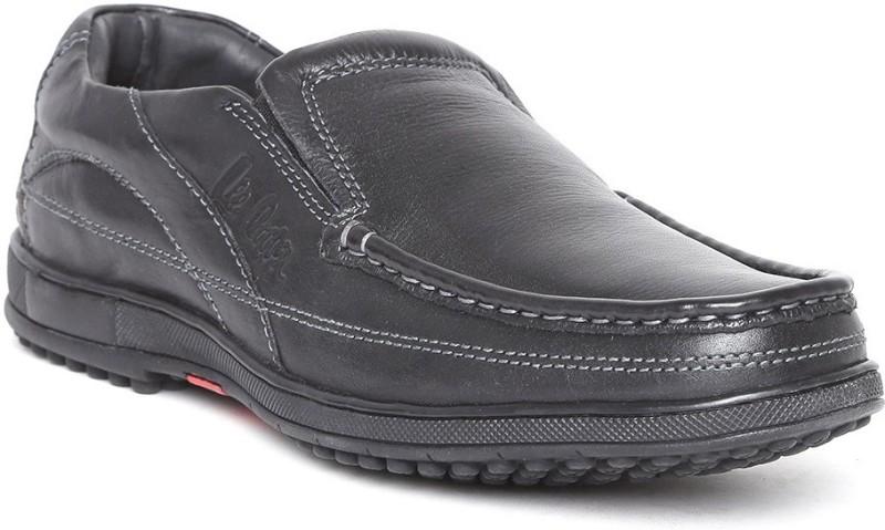 Lee Cooper LC2086 Loafers For Men(Black)
