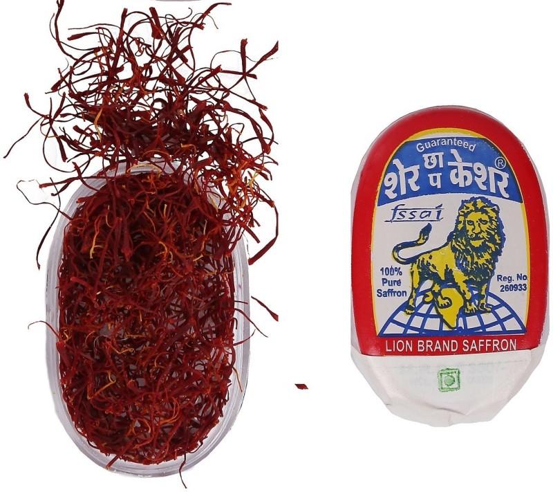 Lion 100% PURE KASHMIRI SAFFRON GRADE A(1 g)