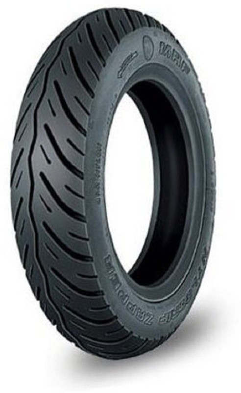 MRF N4 90/100-10 53J N4 90/100-10 53J Front & Rear Tyre(Dual Sport, Tube Less)