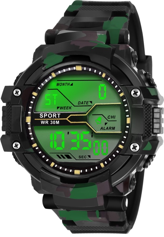Lois Caron LCS-1007 DIGITAL SPORTS Watch - For Men