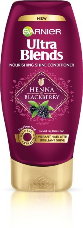 Garnier Ultra Blends Henna & Blackberry Nourishing Shine Conditioner(175 ml)