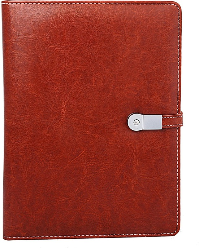 Gathbandhan Regular Notebook(power bank with pen drive, Red)