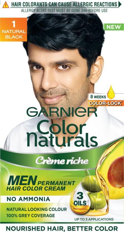 Garnier Men Color Naturals Hair Color(Black 1)