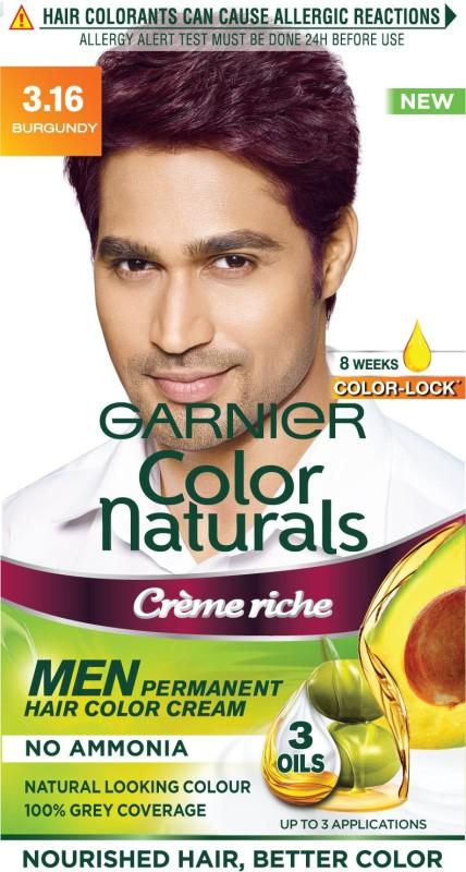 Garnier Men Color Naturals Hair Color(Burgundy 3.16)