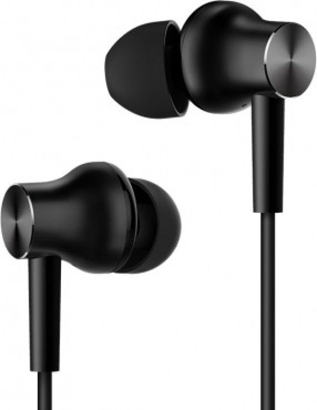 Mi Wired Headset with Mic(Black, In the Ear)