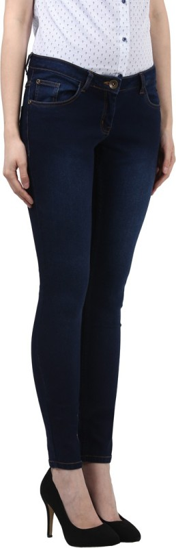 Park Avenue Skinny Women Blue Jeans