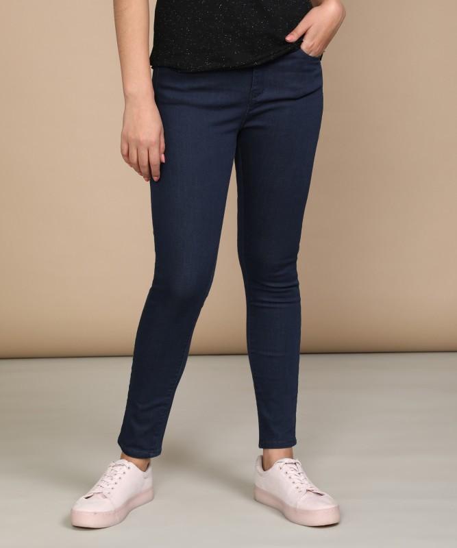Spykar Skinny Womens Blue Jeans