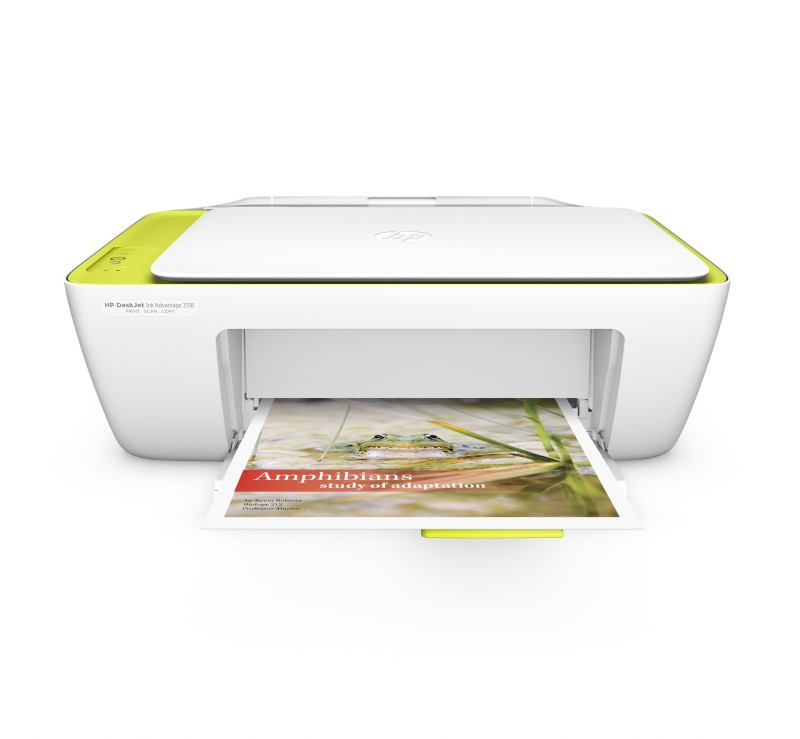 HP DeskJet Ink Advantage 2138 Multi-function Printer(White, Ink Cartridge)