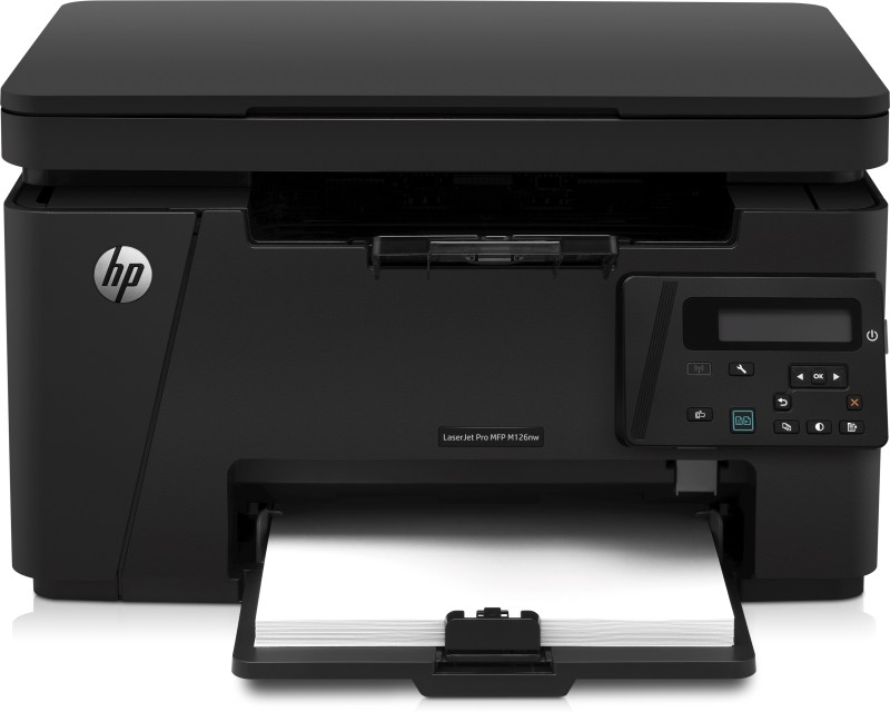 HP LaserJet Pro MFP M126nw Multi-function Monochrome Printer(Black, Toner Cartridge)