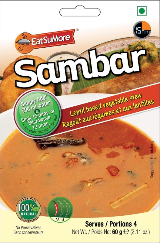 EatSuMore Sambar 60 g