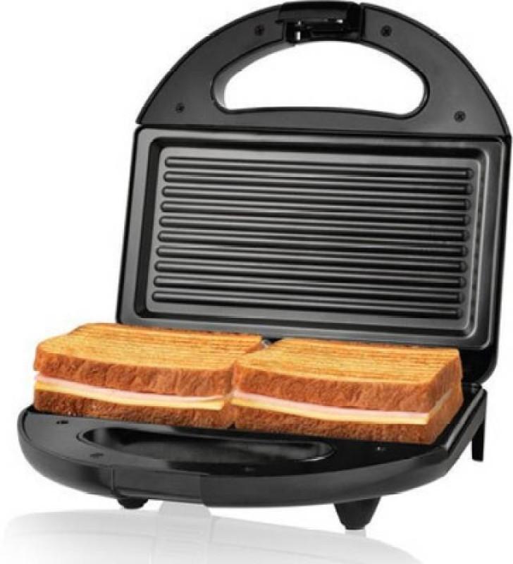 Nova 2 Slice Panni NSG 2442 Sandwich Grill(Jet black)