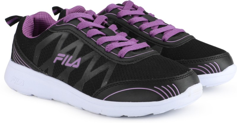 Fila KARI FLEX Running Shoes For Women(Black, Purple)