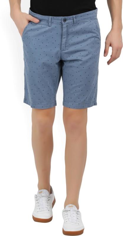 Lee Cooper Printed Mens Blue Basic Shorts