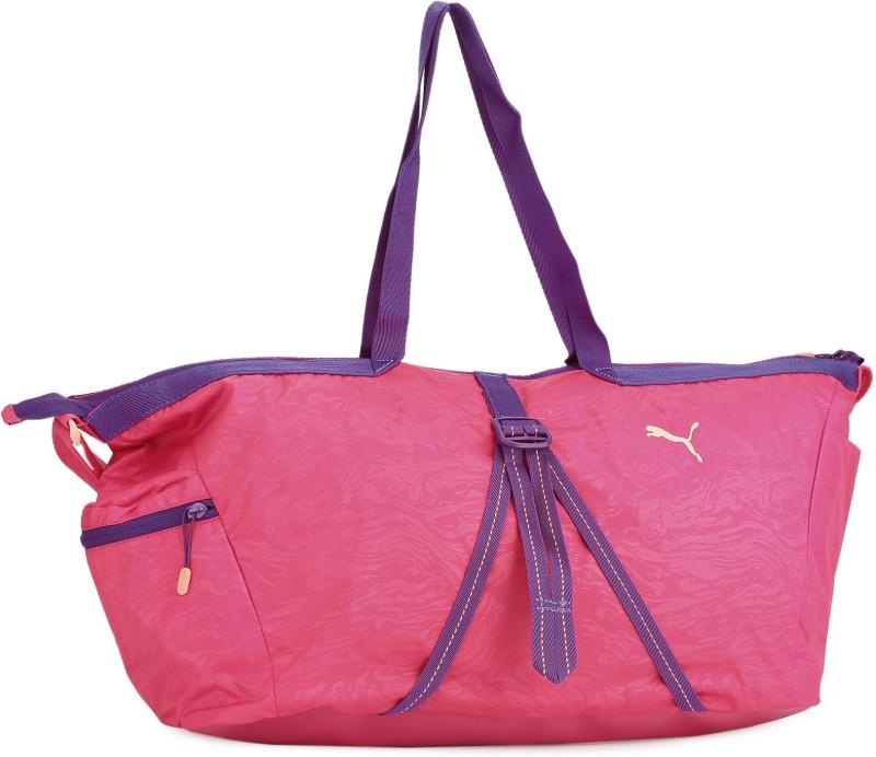 Puma 18 inch/47 cm Fit AT Workout Bag Travel Duffel Bag(Pink)