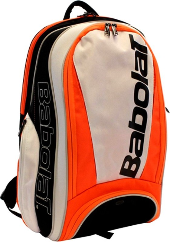 Babolat BACKPACK PURE Tennis Backpack (white red) BACKPACK(Red, Backpack)