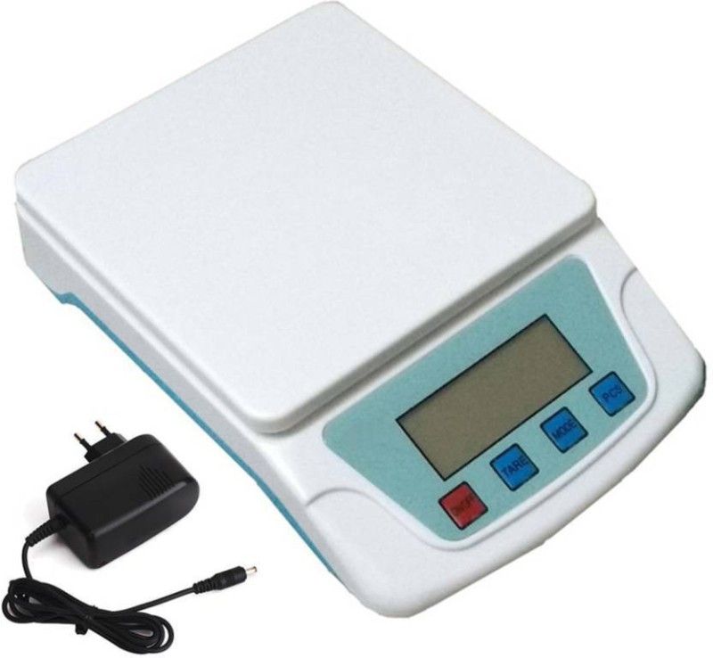 Starvook Flake off Panrularside ts 200 wate resetance Weighing Scale(White)