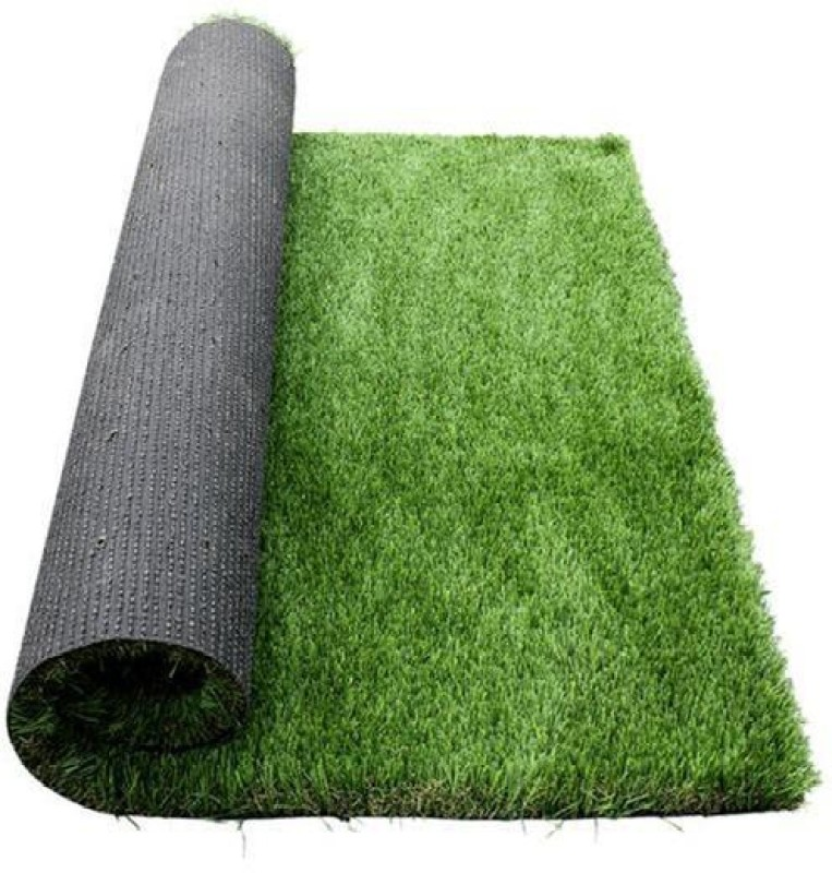 TrustBasket Artificial Lawn/Turf Grass Premium Quality For Balcony, Doormat, Turf Carpet, High Density - 6.5*2 Feet Artificial Turf Roll