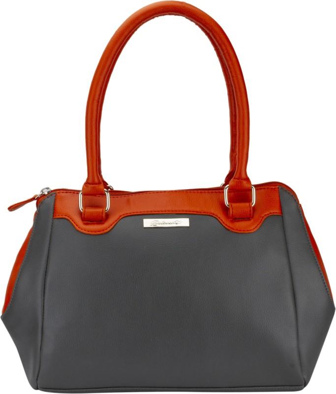 Beloved Women Orange, Grey Shoulder Bag